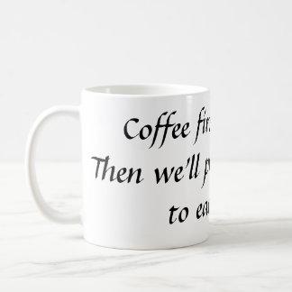 Coffee 1st coffee mugs