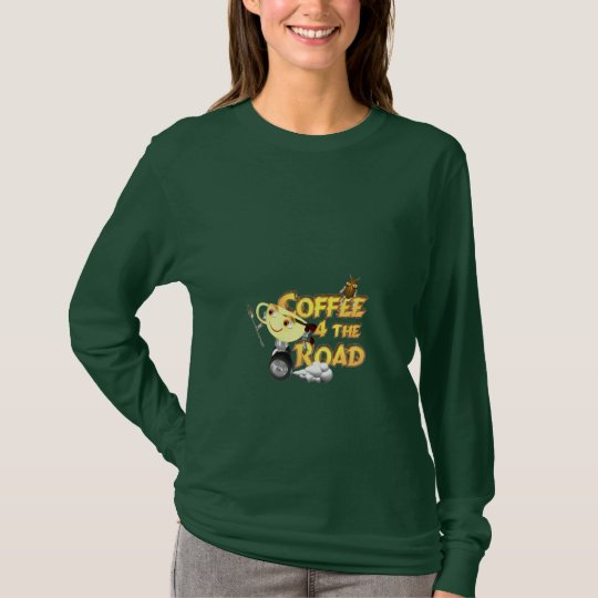 Coffee 4 the road on 100+ by Valxart T-Shirt
