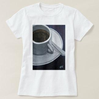 Coffee 5x7 Acrylic on Canvas board, @Kathleen Carr T-Shirt
