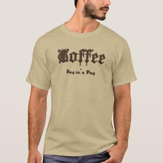 Coffee - a Hug in a Mug    Gothic T-Shirt