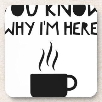 Coffee AA Anonymous Drunk Fellowship Beverage Coaster