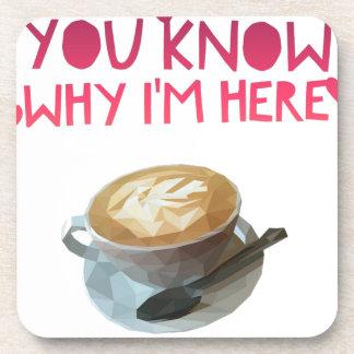 Coffee AA Anonymous Drunk Fellowship Drink Coaster
