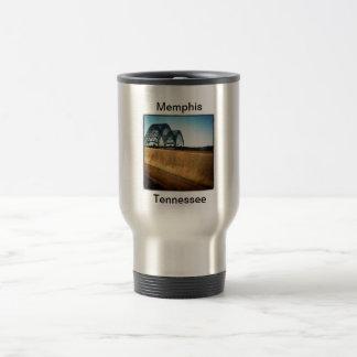 Coffee Across the Bridge 15 Oz Stainless Steel Travel Mug