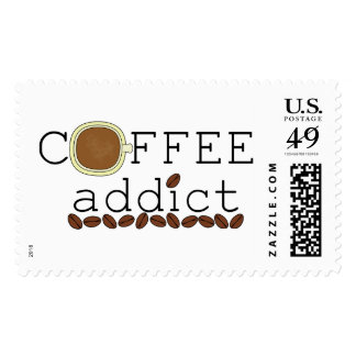 Coffee Addict Beans Postage