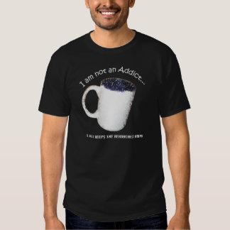 Coffee Addict Black T-Shirt