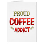 Coffee Addict Cards