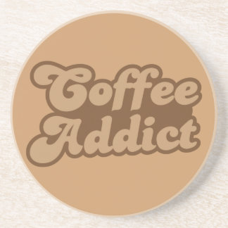Coffee Addict Beverage Coasters