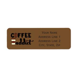 Coffee Addict II - Personalize Label