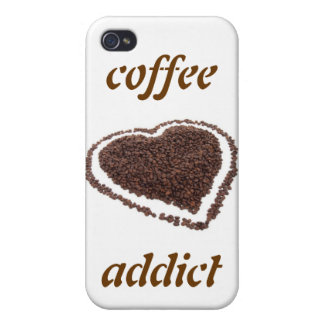 Coffee Addict iPhone 4 Case