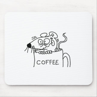 coffee addict mouse pad