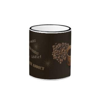 Coffee Addict Coffee Mugs