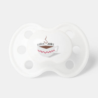 Coffee Addict Baby Pacifiers