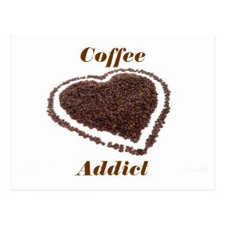 Coffee Addict Post Cards