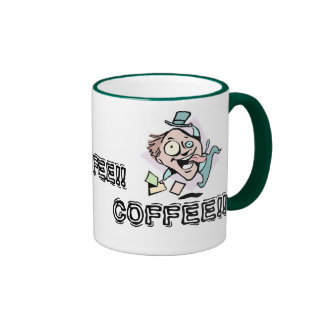 Coffee Addiction Ringer Mug