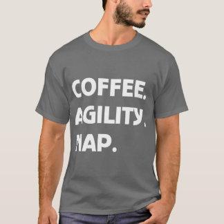 Coffee Agility Nap T-Shirt