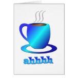 Coffee ahhhh cards