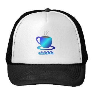 Coffee ahhhh hat