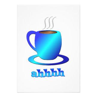 Coffee ahhhh custom invites