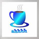 Coffee ahhhh print