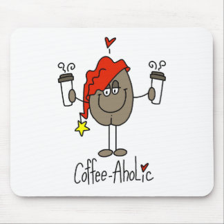 Coffee-aholic Mouse Pad