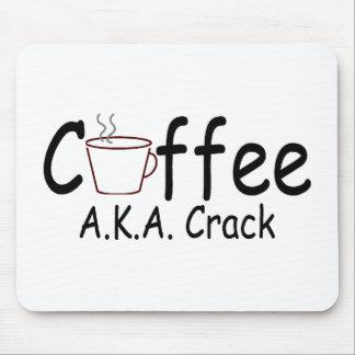 Coffee AKA Crack Mouse Pad