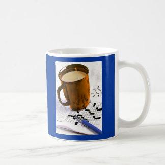 Coffee and a Crossword Coffee Mug