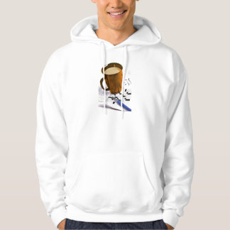Coffee and a Crossword Puzzle Hoodie