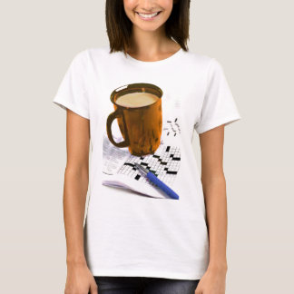 Coffee and a Crossword T-Shirt