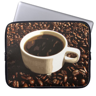 Coffee and Beans Laptop Computer Sleeve