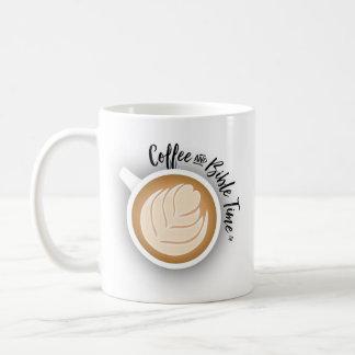 Coffee and Bible Time Logo Mug