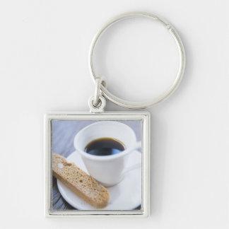 Coffee and Biscotti Keychain