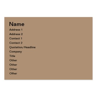 Coffee and biscuit large business cards (Pack of 100)