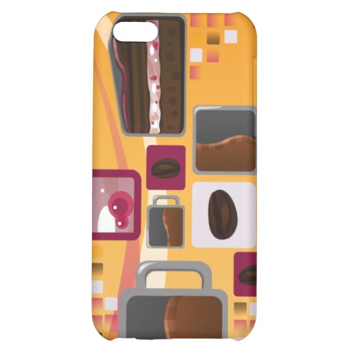 Coffee and Cake Case For iPhone 5C