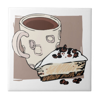 Coffee and Cake Tile