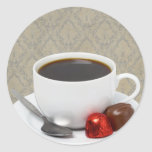 coffee and candy sticker