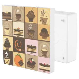 Coffee and Chocolate Creative Art Design Outlet Cover