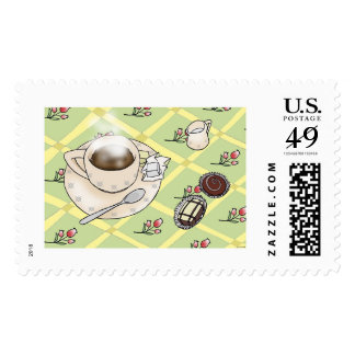 Coffee and Chocolate Postage
