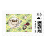 Coffee and Chocolate Stamps