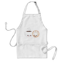 Coffee and Donut Apron