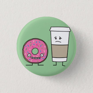 Coffee and Donut Button