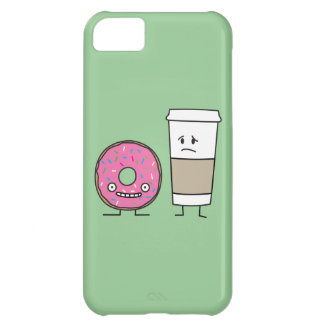 Coffee and Donut Cover For iPhone 5C