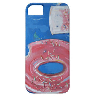 Coffee and Donut iPhone Case by Mattson Studio iPhone 5 Case