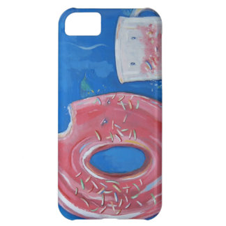 Coffee and Donut iPhone Case by Mattson Studio iPhone 5C Cases