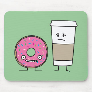 Coffee and Donut Mouse Pad