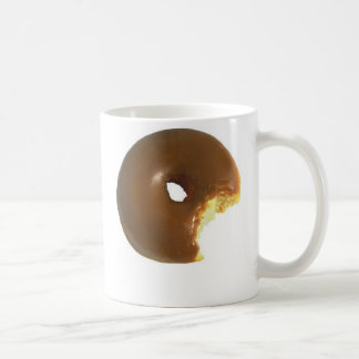 Coffee and Donuts Classic White Coffee Mug