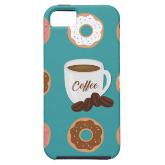 Coffee and Donuts iPhone SE/5/5s Case