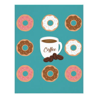 Coffee and Donuts Letterhead