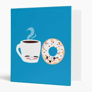 Coffee and Doughnut Pals Binder