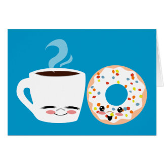Coffee and Doughnut Pals Card