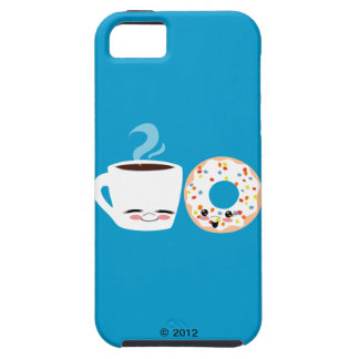 Coffee and Doughnut Pals iPhone 5 Cover